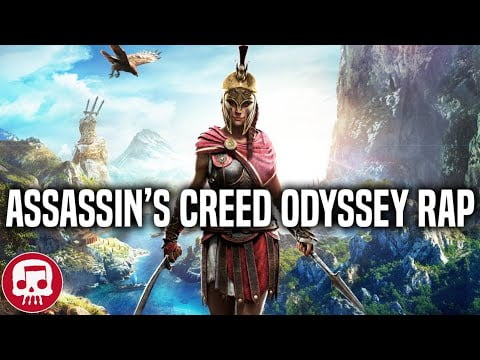 "ASSASSIN'S CREED ODYSSEY RAP by JT Music – ""Blade With No Name"""
