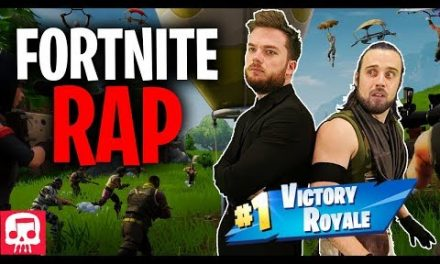 "FORTNITE RAP by JT Music (feat. Fabvl & Divide) – ""Never Give Up"""