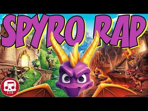 "SPYRO RAP by JT Music & Jeremy Dooley – ""Burn 'Em Down"""