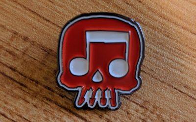 JT Music Commemorative Pin