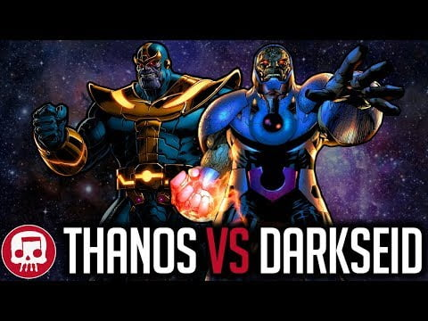 THANOS VS DARKSEID RAP BATTLE by JT Music