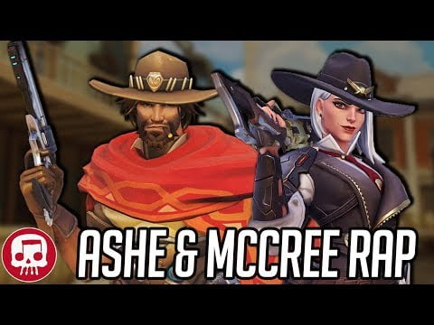 "ASHE AND MCCREE RAP by JT Music – ""The Deadlocks"""
