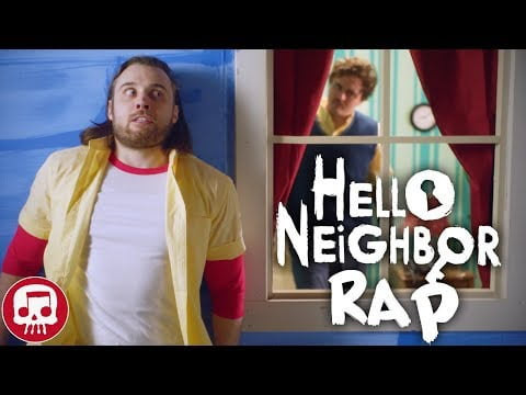 """HELLO NEIGHBOR RAP by JT Music – """"Hello and Goodbye"""" (LIVE ACTION)"""