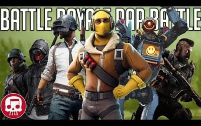 BATTLE ROYALE RAP BATTLE by JT Music, Nerdout, Fabvl, Neebs Gaming, Rockit Gaming & GameboyJones