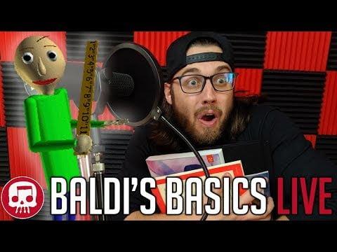 Baldi's Basics Rap LIVE by JT Music