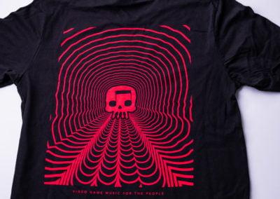 JT Music Skull Wave Tee