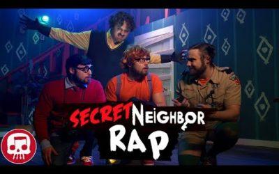 SECRET NEIGHBOR RAP by JT Music (Live Action)