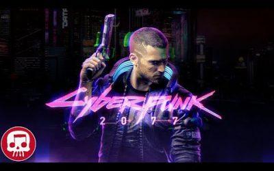 """CYBERPUNK 2077 RAP by JT Music (feat. Andrea Storm Kaden) – """"Night on Fire"""""""