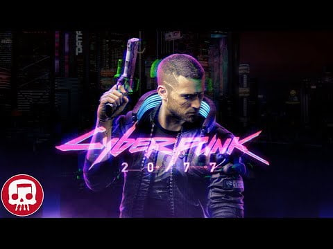 "CYBERPUNK 2077 RAP by JT Music (feat. Andrea Storm Kaden) – ""Night on Fire"""