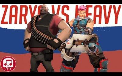 ZARYA VS HEAVY SONG by JT Music (Overwatch vs TF2)