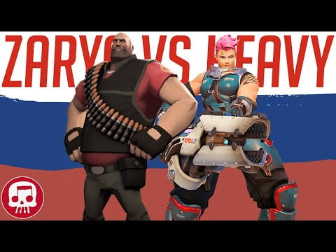 ZARYA VS HEAVY SONG by JT Music (Overwatch vs TF2)