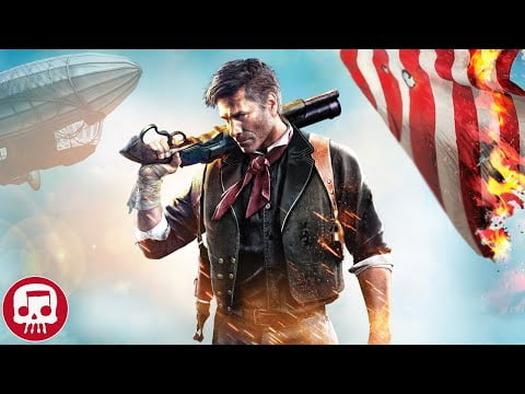 "BIOSHOCK INFINITE RAP by JT Music (feat. Andrea Storm Kaden) - ""Debts to Pay"""