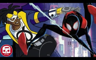 Miles Morales vs Static Shock RAP BATTLE by JT Music, Omega Sparx and SWATS
