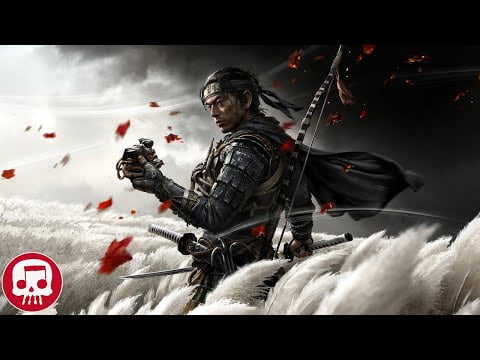"GHOST OF TSUSHIMA RAP by JT Music (feat. Andrea Storm Kaden) - ""Honor Never Falls"""