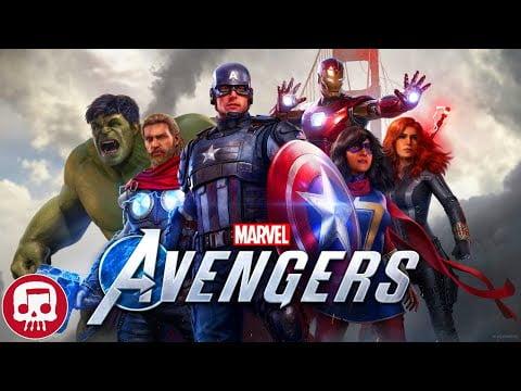 """MARVEL'S THE AVENGERS RAP by JT Music - """"Assemble"""""""