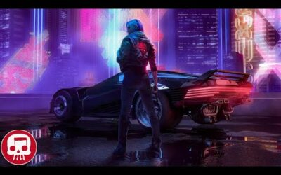 "CYBERPUNK 2077 RAP by JT Music & Bonecage – ""Robots in a Dream"" (feat. Zach Boucher, Fabvl & Sharm)"
