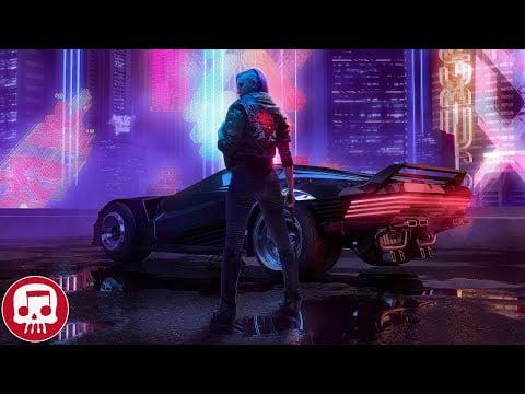 "CYBERPUNK 2077 RAP by JT Music & Bonecage - ""Robots in a Dream"" (feat. Zach Boucher"