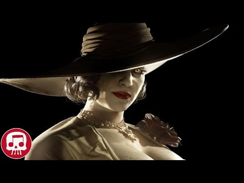 """RESIDENT EVIL VILLAGE SONG by JT Music - """"Tall Woman"""" (Lady Dimitrescu Song)"""